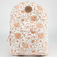 O'neill Kiki Backpack White Combo One Size For Women 23815616701