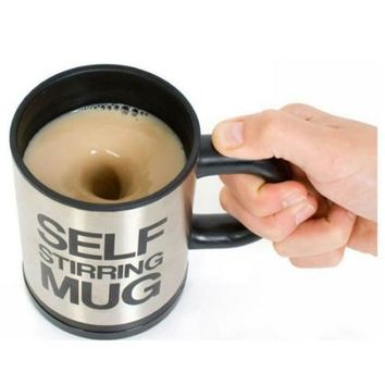 Gangnam Shop Creative Lazy Self-Stirring Mug Cup for TeaCoffeeHot