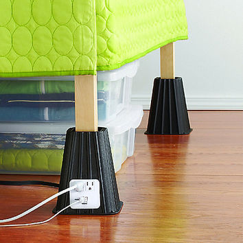 7-Inch Power Bed Riser Set of 4