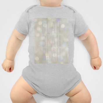 Blah... Onesuit by RichCaspian | Society6