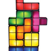 Paladone Tetris Constructible Desk Lamp Set