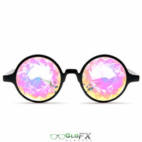 GloFX Kaleidoscope Glasses- Rainbow