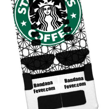 "Nike Elite Socks ""Starbucks"" + FREE SHIPPING - by Bandana Fever"