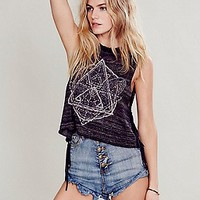 Free People Womens Zodiac Sweater Tank -