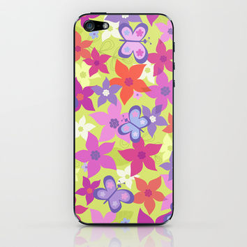 happy garden iPhone & iPod Skin by Juliagrifol designs