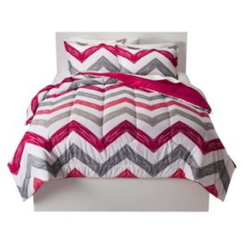 Room Essentials Reversible Chevron Comforter