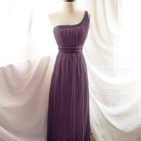 Romantic Angel Plum Chantilly Purple Mauve Long by RiverOfRomansk