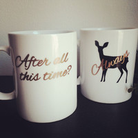 After all this time Always coffee mugs  couples coffee mugs coffee cup set #HarryPotter #Always #coffeemug #coffeecup #coffee