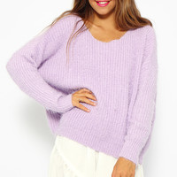 Lullaby Knit - Lilac