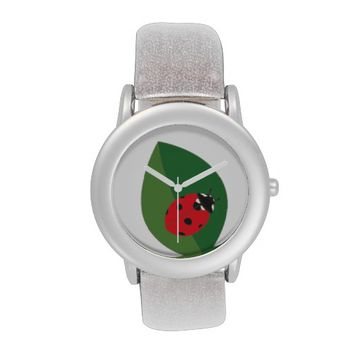 Ladybird - White Wrist Watch