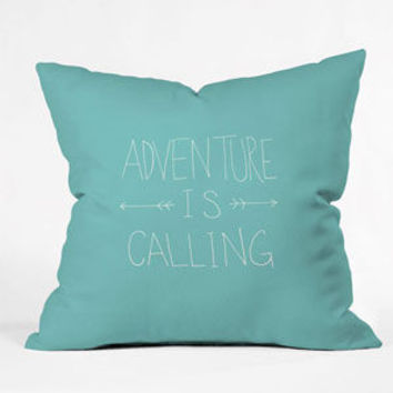 DENY DESIGNS Adventure Throw Pillow