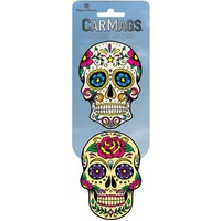 Car Magnet-Sugar Skulls