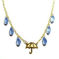 Tilleyjewels Rainy Days Umbrella Necklace | tilleyjewels - Jewelry on ArtFire
