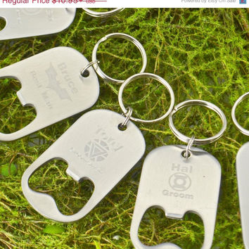 Fathers Day Sale Super Hero Keychain – Beer Bottle Opener Key Chain – Personalized Keychain – Best…