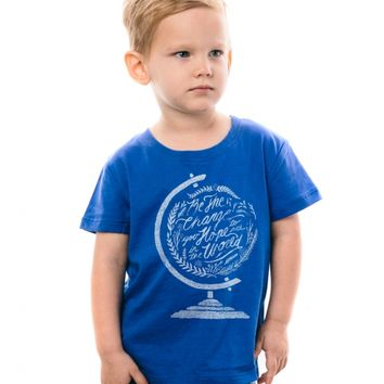 Be the Change Toddler Tee