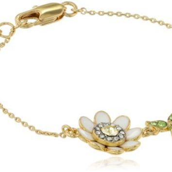 Juicy Couture Daisy and Vine Wish Bracelet, 7.26""