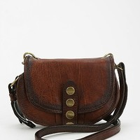 Frye Elaine Vintage Mini Crossbody Bag- Brown One
