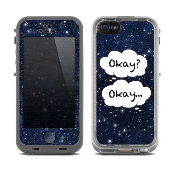 Copy of The Okay Speech Bubbles Over Starry Sky Skin for