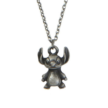 Disney Lilo Stitch Charm Necklace