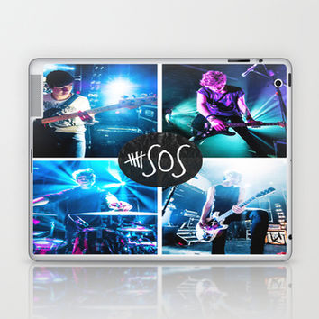 5sos  Laptop & iPad Skin by kikabarros