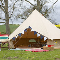 four metre bell tent by baker + bell | notonthehighstreet.com
