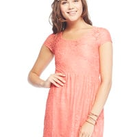 Riley™ Lace Skater Dress | Wet Seal