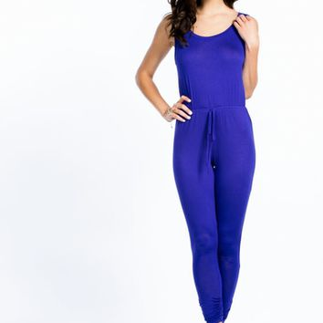 Got Ur Back Surplice Jumpsuit