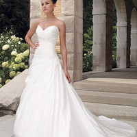 Charming A-line Sweetheart Neckline Wedding Dress-SinoSpecial.com
