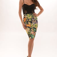 Floral Pin Up Dress
