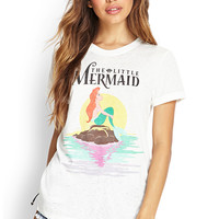 Retro Little Mermaid Te