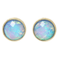 LOVEsick Blue Opal Earrings