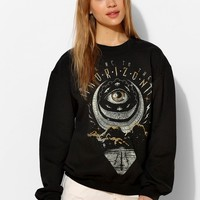 Black Moon Eclipsed Moon Pullover Sweatshirt - Urban Outfitters