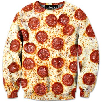 B2 – PEPPERONI PIZZA CREWNECK