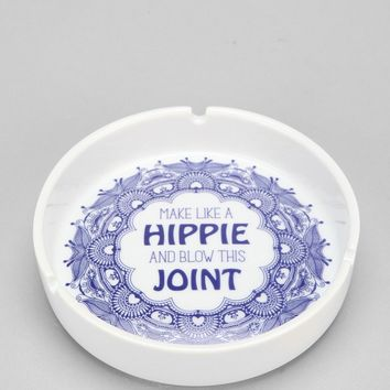 Make Like A Hippie And Blow This Joint Ashtray  Urban Outfitters