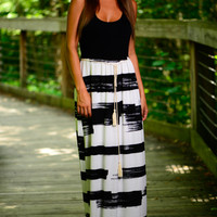 This Day Maxi, Black/White