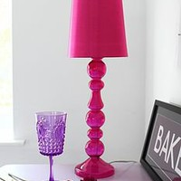 jem hot pink table lamp by out there interiors | notonthehighstreet.com