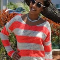 Neon Summer Sweater