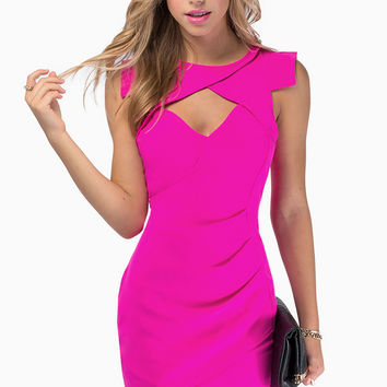 Shock Wave Bodycon Dress $54