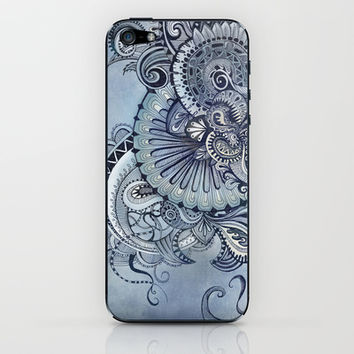 It's you Babe who gets me flowin' iPhone & iPod Skin by brenda erickson