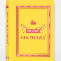 On Your Birthday By Summersdale - Urban Outfitters