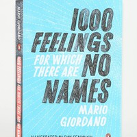 1,000 Feelings For Which There Are No Names By Mario Giordano, Ray Fenwick & Isabel Fargo Cole - Assorted One Size- Assorted One
