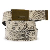 Vans Fortified Snake Web Revesible Belt (Gunmetal)