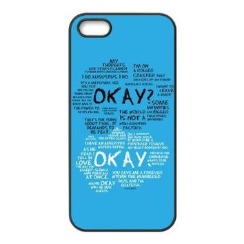 New Style Perfect fault in our stars For Iphone 55s Cover Case