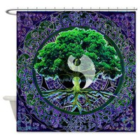 Tree of Life Balance Shower Curtain> Shower Curtains> The Tree of Life Shop