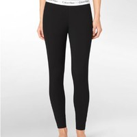 Calvin Klein Modern Cotton Pajama Leggings Sleepwear D1632 at BareNecessities.com
