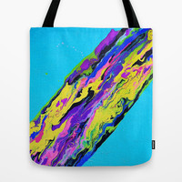 Go With the Flow Tote Bag by Erin Jordan