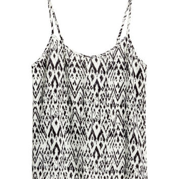 Woven Tank Top  from H M