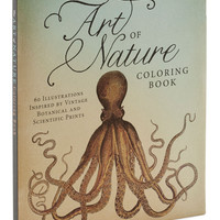 ModCloth Critters The Art of Nature Coloring Book