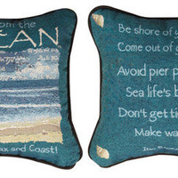 Advice From The Ocean Pillow | OceanStyles.com