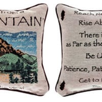 Advice From A Mountain Pillow : Log Cabin Styles
